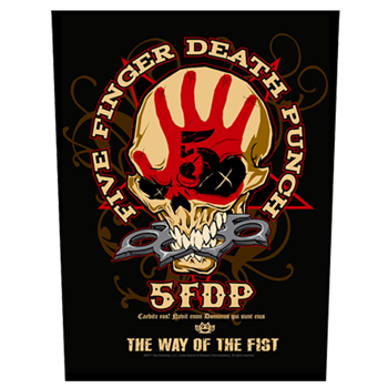 Five Finger Death Punch The Way Of The Fist Backpatch