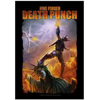 Buy Standing on Liberty Flag by Five Finger Death Punch