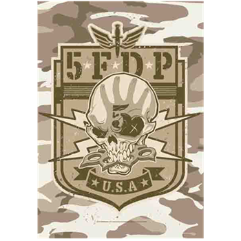 Buy Camo Skull Flag by Five Finger Death Punch