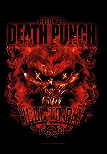 Buy Hell To Pay Flag by Five Finger Death Punch