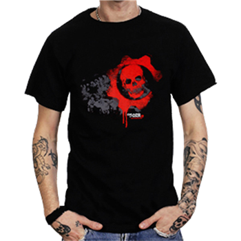 Buy Red Skull T-Shirt by Gears Of War