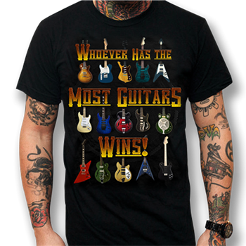 Buy Most Guitars Wins T-Shirt by Generic