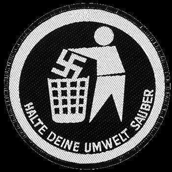 Buy Halte Deine Umwelt Sauber Patch by Generic