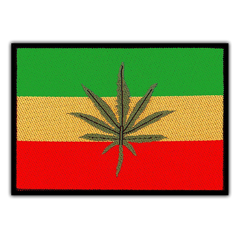 Generic Rasta Weed Patch