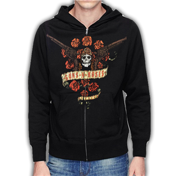 Buy Bouquet Zip Hoodie by Guns 'n' Roses