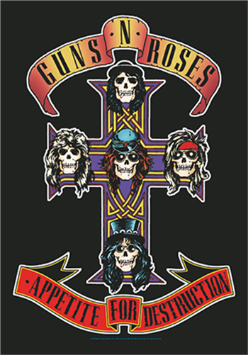 Guns 'n' Roses Cross
