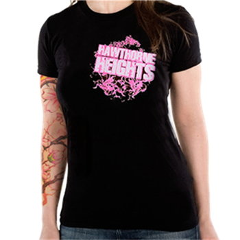 Buy Pink Print T-Shirt by Hawthorne Heights