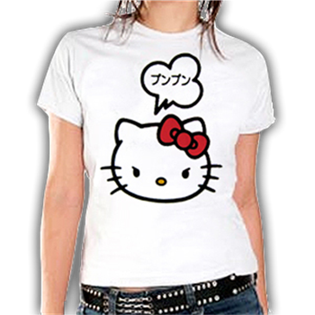 Hello Kitty Word Bubble