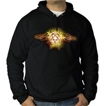 Buy Tribal Flames Pullover Hoodie by Him