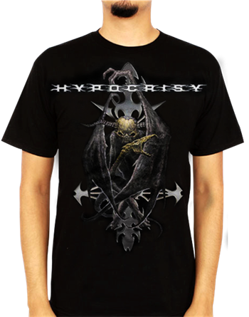 Buy Evil Cross T-Shirt by Hypocrisy
