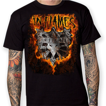 Buy Shield / Tour Dates T-Shirt by In Flames