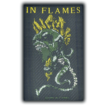 In Flames Screaming Demon Head Patch