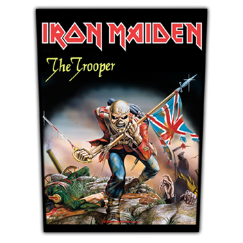 Buy The Trooper Patch by Iron Maiden