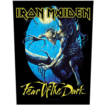 Iron Maiden Fear Of The Dark Backpatch
