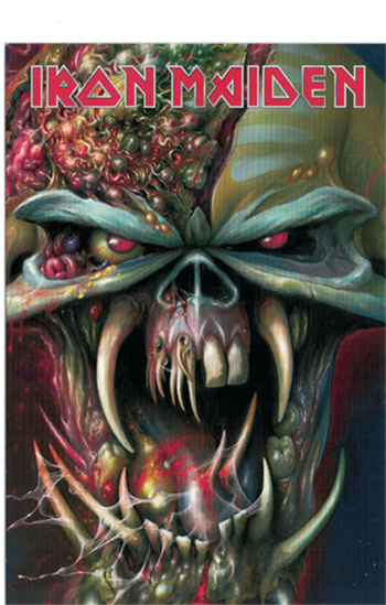 Iron Maiden The Final Frontier Postcard