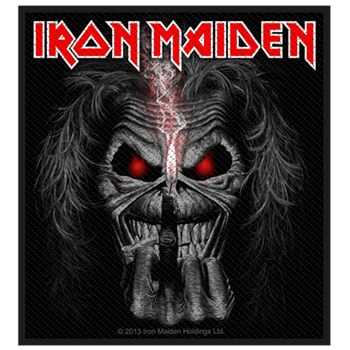 Iron Maiden Eddie Finger Patch