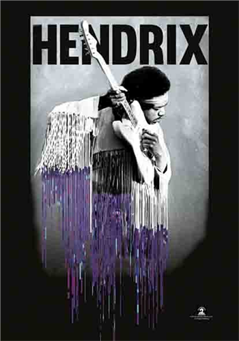 Jimi Hendrix Dripping