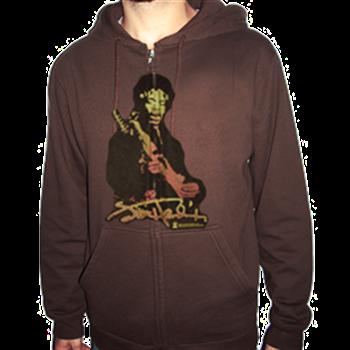 Jimi Hendrix Sunset Blend Zip Hoodie