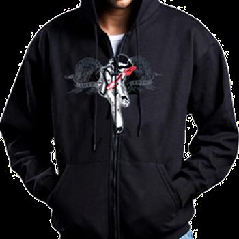 Buy Memorial Zip Hoodie by Jimi Hendrix