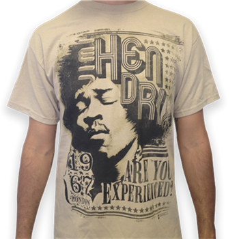Buy London 67 T-Shirt by Jimi Hendrix