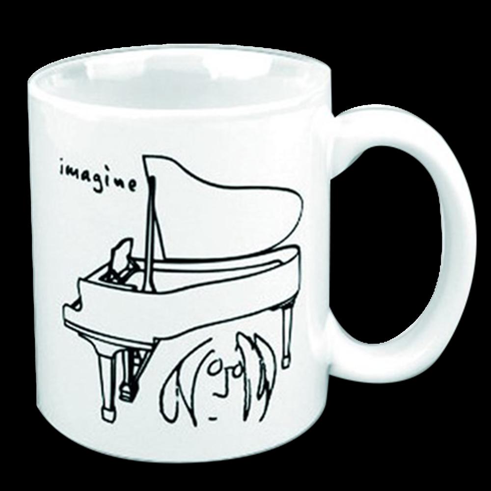 Piano Sketch Mug