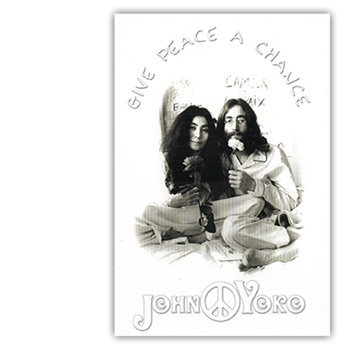 John Lennon Give Peace A Chance Postcard