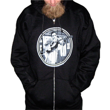 Johnny Cash Circle Zip Hoodie
