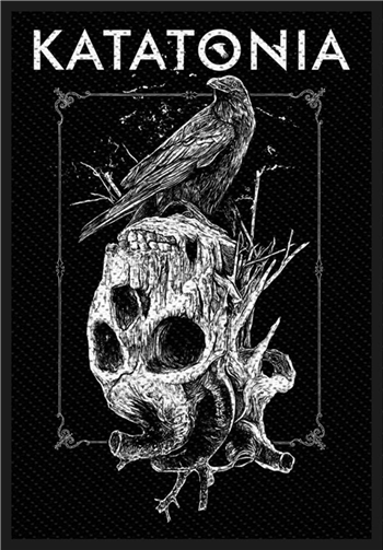 Katatonia Crow Skull Patch