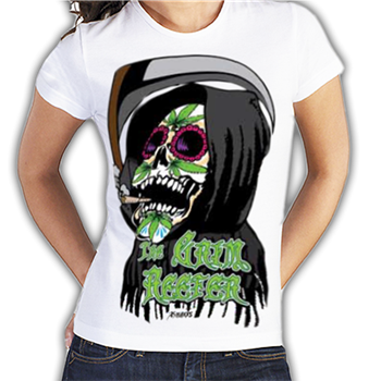Buy Grim Reefer T-Shirt by Khaos