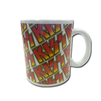 KISS Multiple Logo Mug