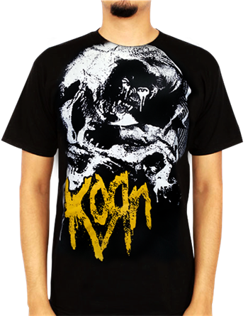 Buy Panther Skulls T-Shirt by Korn