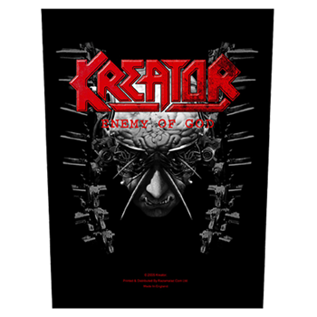 Kreator Enemy of God Backpatch
