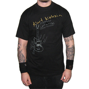 Buy Left Handed T-Shirt by Kurt Cobain