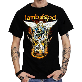Buy Hourglass T-Shirt by Lamb Of God