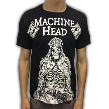 Machine Head Skeleton King T-Shirt