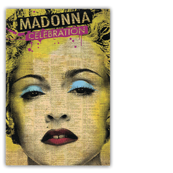 Buy Celebration Postcard by Madonna