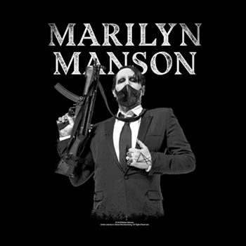 Marilyn Manson Machine Gun Backpatch