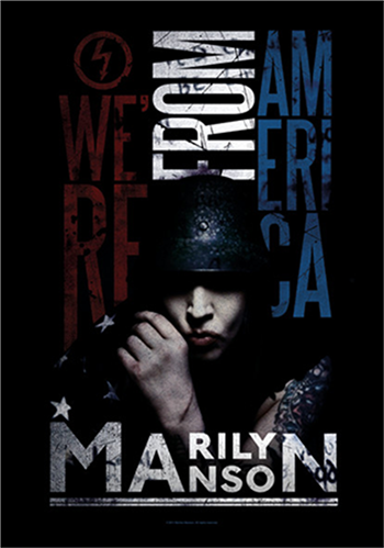Marilyn Manson American Graffiti