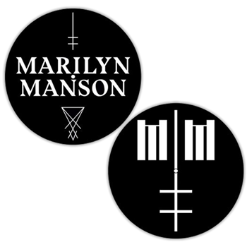 Marilyn Manson Logo / Cross Slipmat