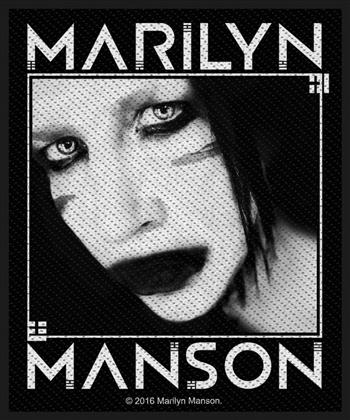 Marilyn Manson Pale Emperor-era Manson Patch