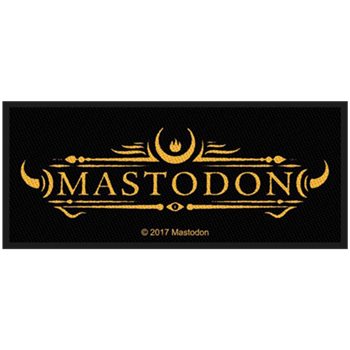 Buy Logo Patch by Mastodon