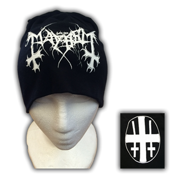 Mayhem Logo / Crosses (Discharge)