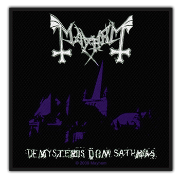 Buy De Mysteriis Dom Sathanas Patch by Mayhem