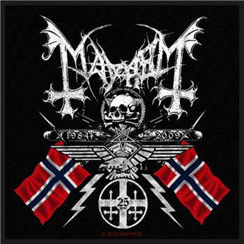 Buy Norwegian Flags Patch by Mayhem