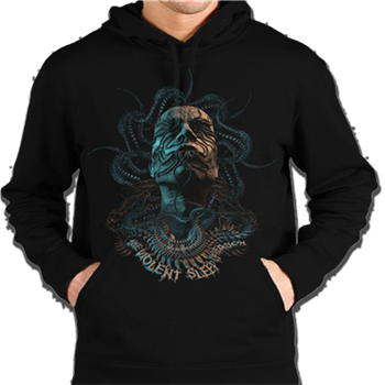 Buy The Violent Sleep Of Reason Pullover Hoodie by Meshuggah