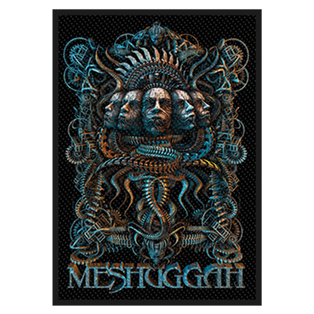 Meshuggah 5 Faces Patch