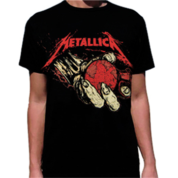 Buy Apocalypse Hand T-Shirt by Metallica