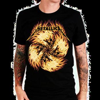 Metallica Skull Circle