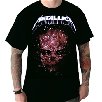 Metallica Explosive Skull T-Shirt