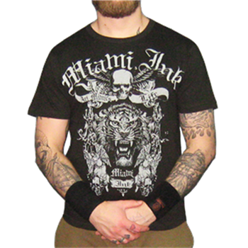 Buy Tiger Face T-Shirt by Miami Ink